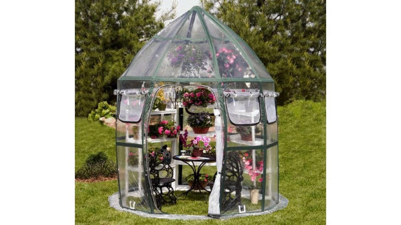 Diseño de invernadero de jardín pequeño - YouTube
