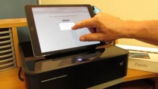 Securewineshop - pos demo with printer & cash drawer