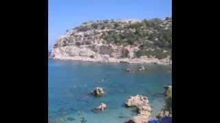 Остров Родос(Ознакомительное видео о достопримечательностях о. Родос., 2015-01-22T16:10:05.000Z)