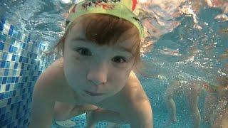 Один день в детском саду. Бассейн,  подводная съёмка.(Видеосъёмка в Новокузнецке. +79069301414., 2015-08-09T08:27:09.000Z)
