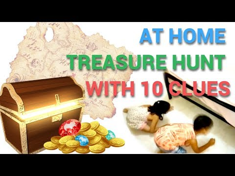 At Home Treasure Hunt With 10 Clues