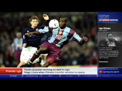 Paul Merson emotional tribute to Ugo Ehiogu