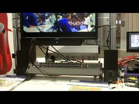 InfoComm 2014: Digital Design Corporation Demos AVB Technology Through an Extreme Switch