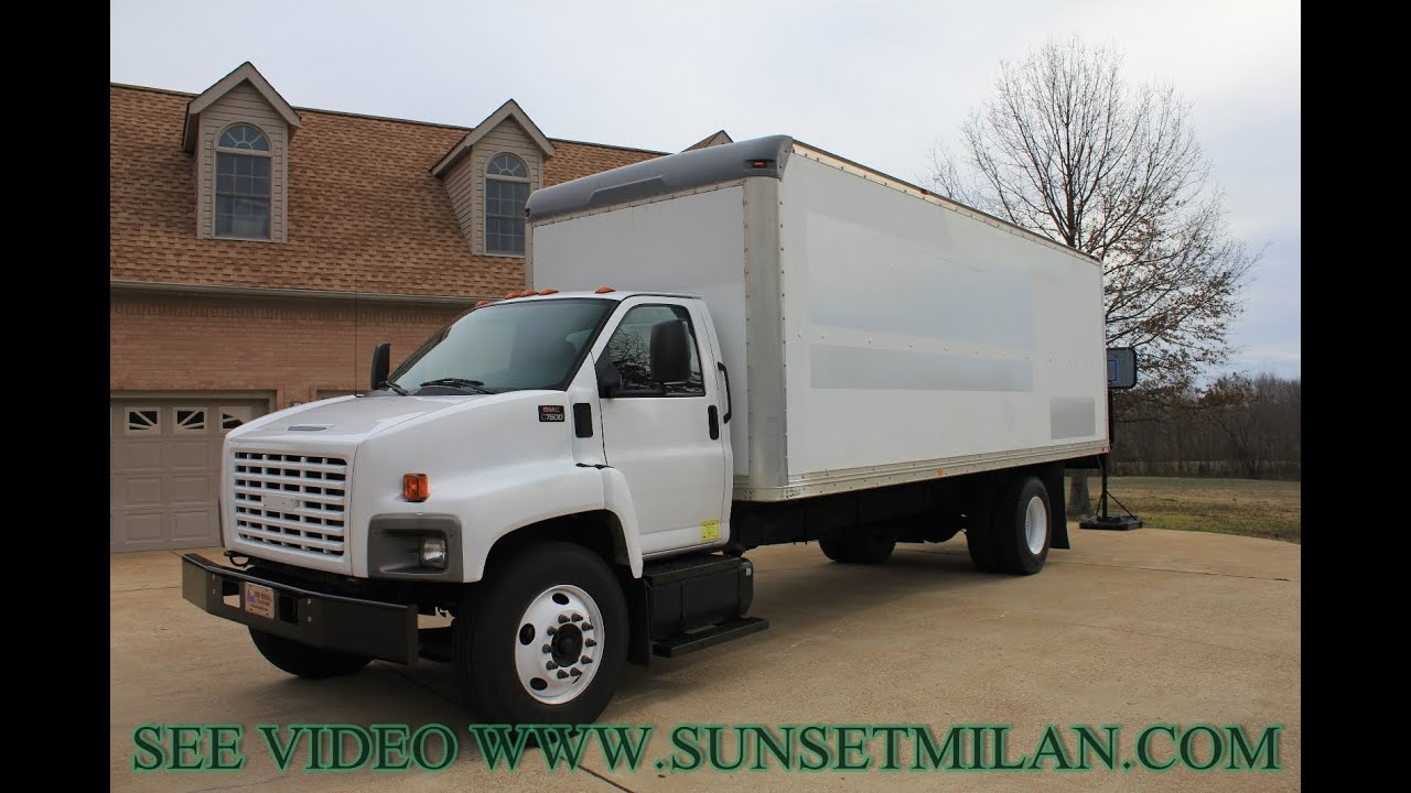 Hd Video 2005 Gmc C7500 24ft Box Truck For Sale See Www Sunsetmilan Topkick 6500 Mitula Cars Com Youtube