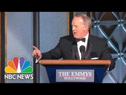 Sean Spicer Surprises Emmys Audience   NBC News