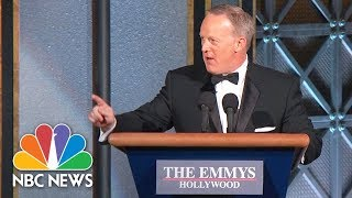 Sean Spicer Surprises Emmys Audience | NBC News