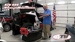 ATV Television Special - Polaris RZR Initial Maintenance. Oil Changes.