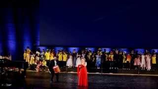 Karine Aguiar à l 39 Unesco de Paris Tournée Européenne Arraial do Mundo