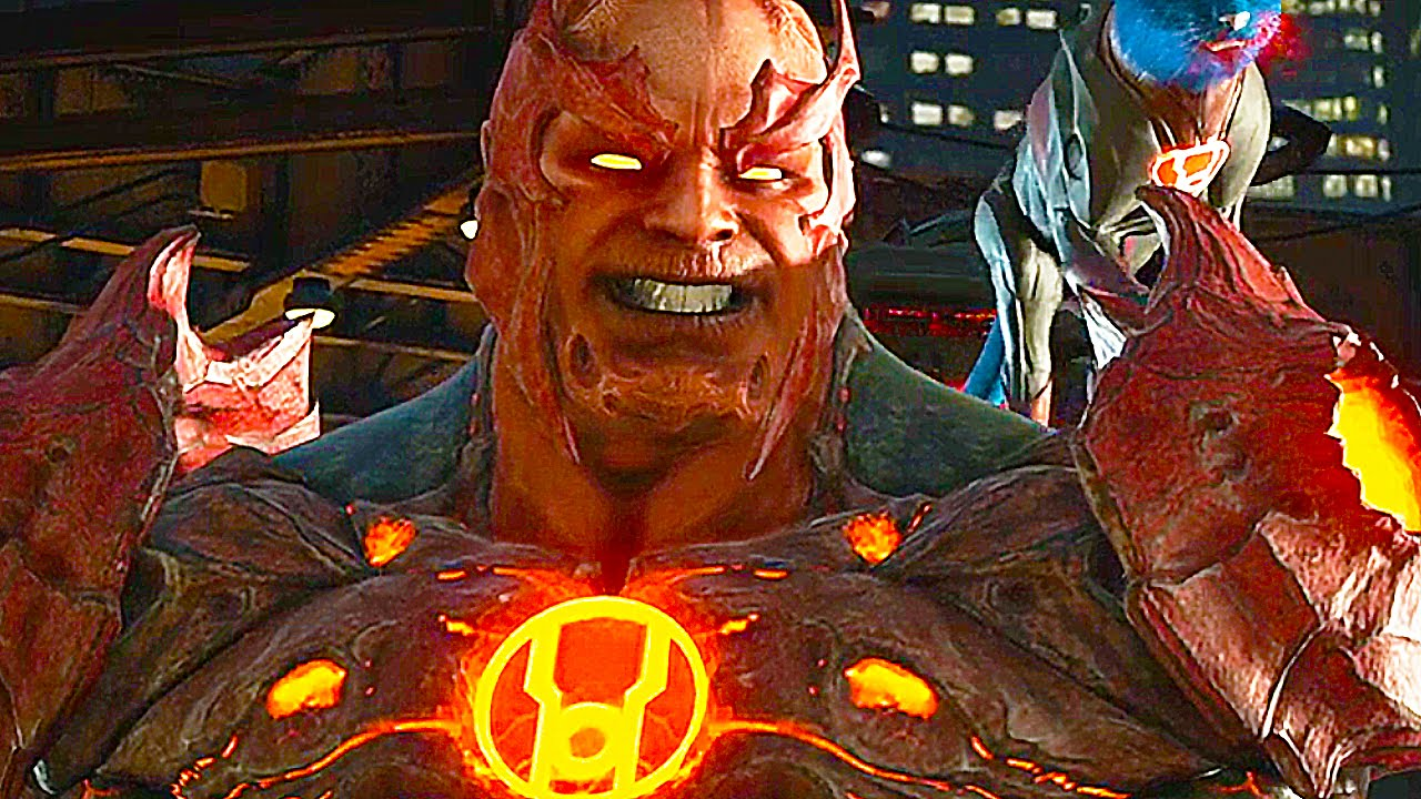 Injustice 2 Gameplay Atrocitus Grodd Supergirl Aquaman