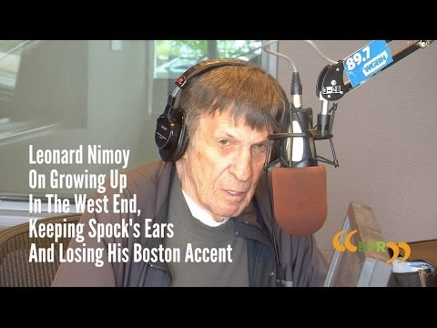 Leonard Nimoy On Growing Up In The West End, Keeping Spock