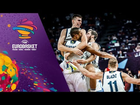 Slovenia v Serbia - Full Game - Final - FIBA EuroBasket 2017