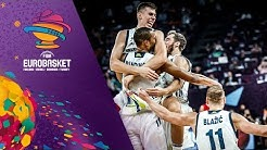 Slovenia v Serbia - Full Game - Final - FIBA EuroBasket 2017