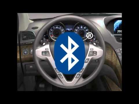 Bluetooth® HandsFreeLink®   2012 Acura MDX1