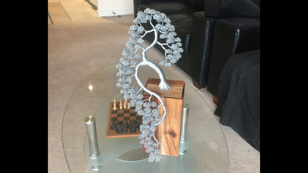 Making A Bonsai Wire Sculpture Time Lapse Youtube Wiring Not For Dummies