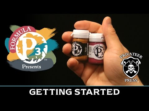 Formula P3 Presents: Getting Started