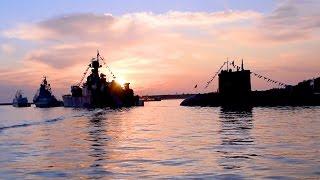 Корабли Черноморского флота ВМФ России в Севастопольской бухте