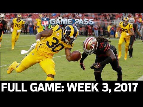 Highest Scoring TNF Game EVER: Rams vs. 49ers Week 3, 2017 FULL GAME