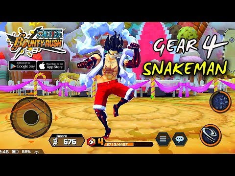 luffy-gear-4-snakeman---one-piece-bounty-rush-gameplay-(android/ios)