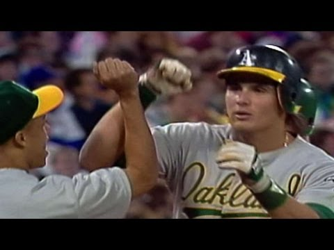 ALCS Gm4: Canseco's moonshot lands in the fifth deck