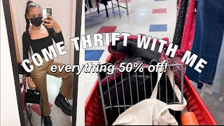TRANSITIONAL WINTER TO SPRING COME THRIFT WITH ME + HAUL | SALVATION ARMY