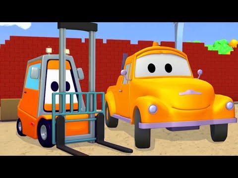 ทอม เจ้ารถลาก 🚗  เจ้ารถยก   l การ์ตูนรถยนต์และรถบรรทุกพ่วงสำหรับเด็ก Truck Cartoon for Kids