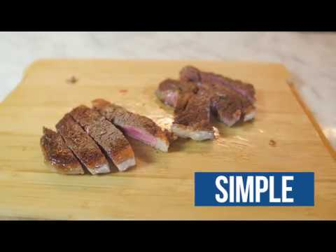 how to cook steak medium rare on pan