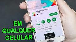 Aprenda a Atualizar o Google Play Services de Qualquer Celular em 2018 (Ultima Versão)