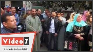 العاملون بوزارة الزراعة بمحافظة المنوفية ينظمون وقفة احتجاجية أمام الوزراء للمطالبة بالتعيين