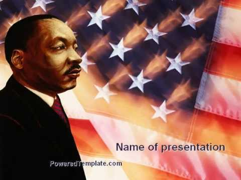 Martin luther king powerpoint template by poweredtemplate youtube martin luther king powerpoint template by poweredtemplate toneelgroepblik Images