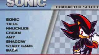 ultimate flash sonic cheatcode GET SHADOW & AMY!