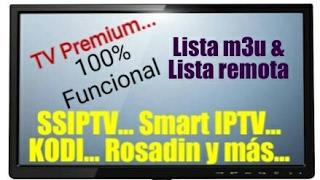 Instalando SSIPTV en Smart Tv LG/Samsung -Lista Siempre Funcionando- [Leer Descripción]