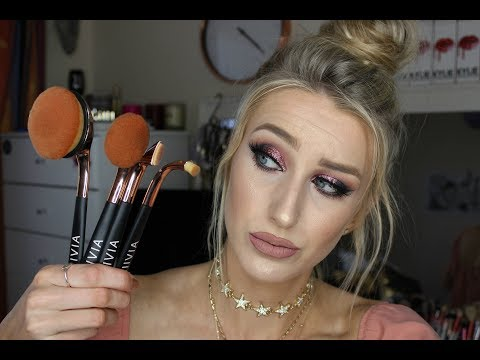 DO THESE REALLY REALLY WORK? lllVlA Makeup Brushes Review