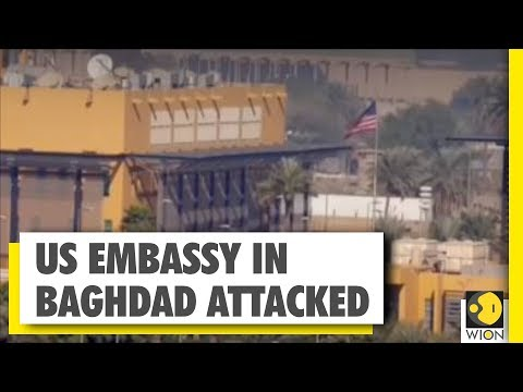News Alert: US Embassy In Baghdad Attacked | WION News | World News