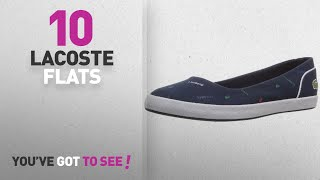Lacoste Flats | New & Popular 2017