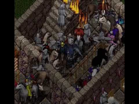 Ultima Online Napa Valley Shard, Adam Ant Quest