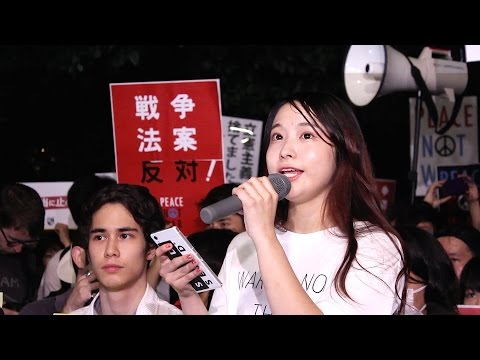 Japanese Students Resist Shinzo Abe
