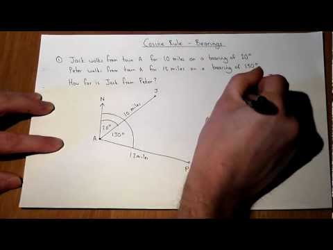 Bearings in Trigonometry (with videos, worksheets, games & activities)