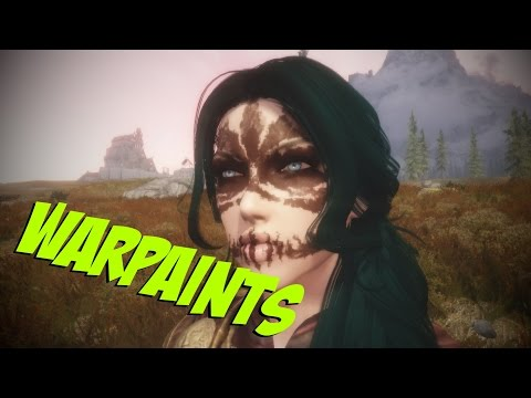 [Skyrim]: How to add Warpaints to your Character in Racemenu 3! [HD]
