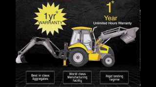 Construction & Earth Moving Equipment - Backhoe Loader India | Mahindra EarthMaster