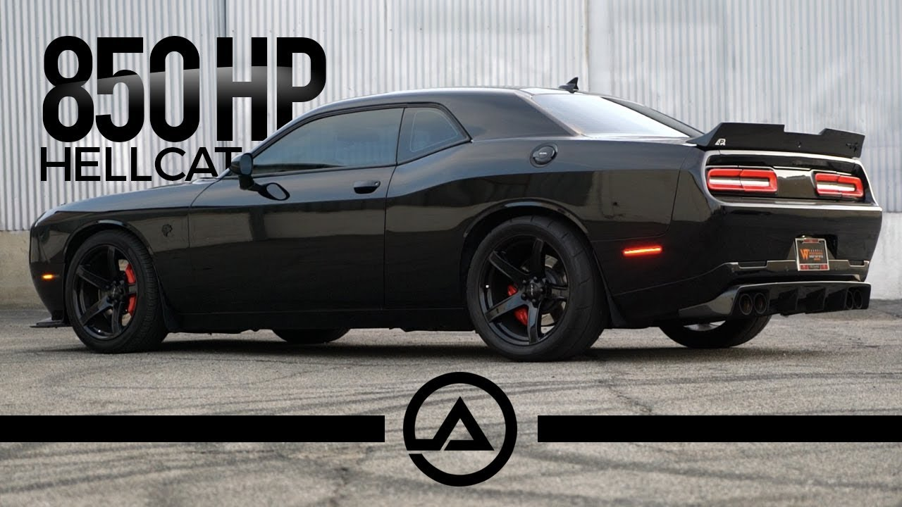 850 Whp Dodge Hellcat Challenger Simple Bolt Ons E85