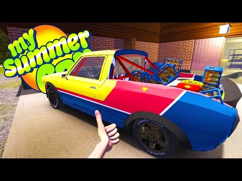 MY SUMMER PICK UP TRUCK! Turning the Satsuma into a UTE - My Summer Car Gameplay Highlights Ep 60