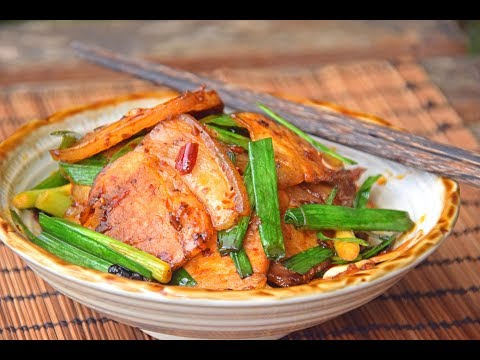 Twice Cooked Pork, Sichuan Huiguorou Recipe (回锅肉)
