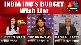 Union Budget 2018-19: INDIA INC'S BUDGET Wish List | CNBC TV18