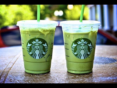 Green Tea Matcha (Secret Starbucks Menu) - YouTube