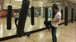 karate front kick (mae geri) part 2