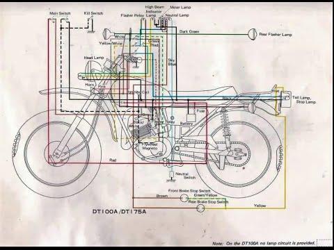 1974 yamaha dt250 wiring diagram   hobbiesxstyle  hobbiesxstyle