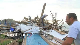 Maltempo in Sicilia per il ciclone Zorbas diretto in Grecia: danni ad Aci Trezza