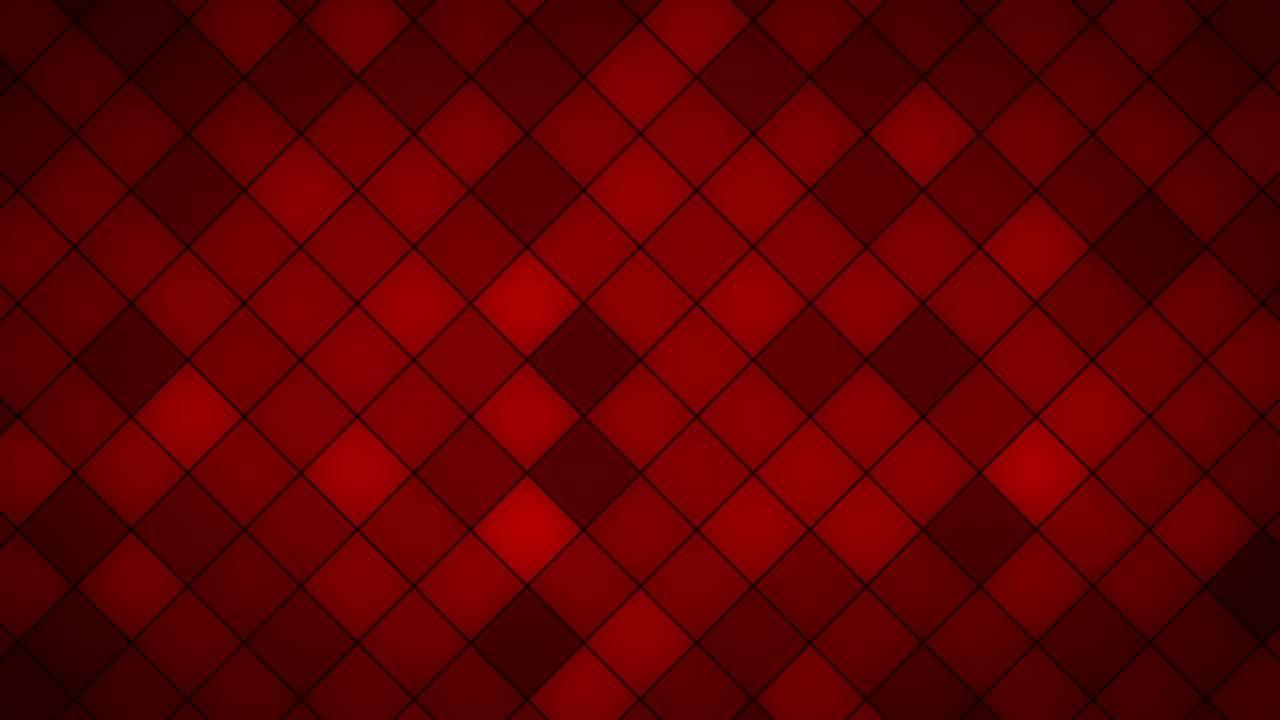 Red Tiles HD Background Loop
