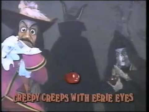 Disney Sing Along Songs - 1990 Disneyland Fun - Grim Grinning Ghosts