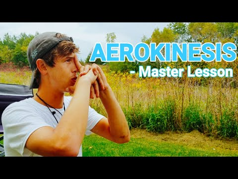 AEROKINESIS TUTORIAL 💨 HOW TO TELEKINESIS & REAL AIRBENDING! - ( DEVELOPE PSYCHIC ABILITIES - p.4)
